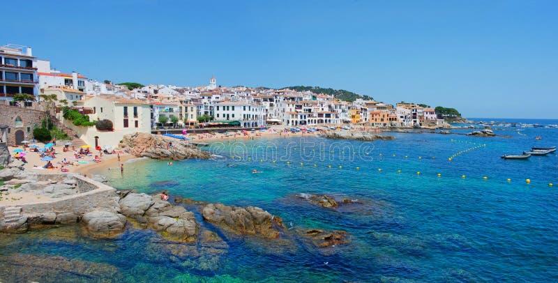 Calella de Palafrugell, Costa Brava, Catalonia, Hiszpania zdjęcia stock