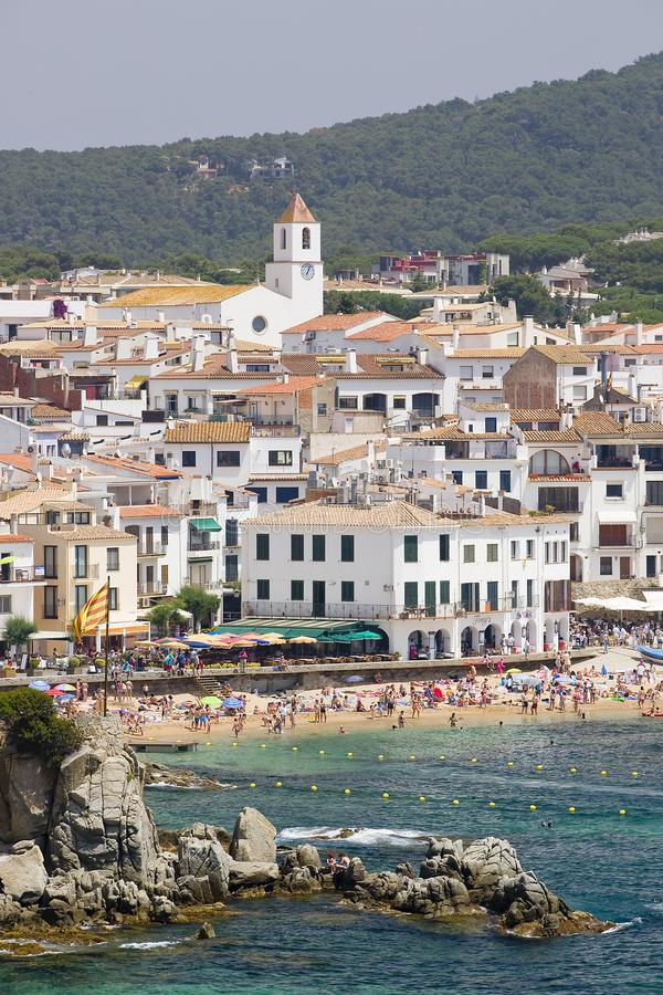 calella de Palafrugell Katalonii Hiszpanii fotografia royalty free