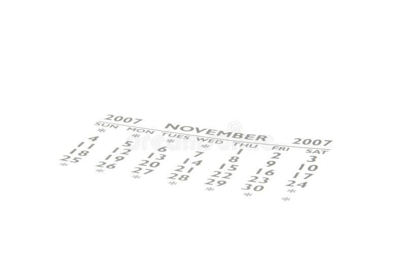 Calendário imagem de stock royalty free