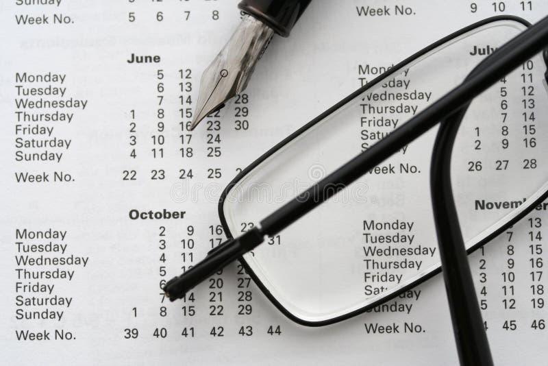 Calendário 2006 do negócio foto de stock royalty free