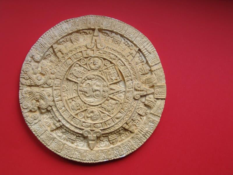 Calendário asteca fotos de stock royalty free