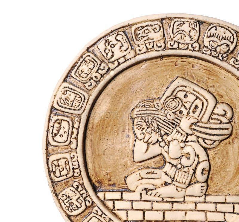 Calendário maia. imagens de stock royalty free