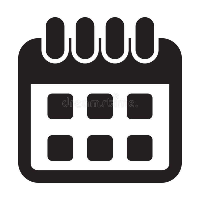 calendar икона Календарь на стене также вектор иллюстрации притяжки corel бесплатная иллюстрация