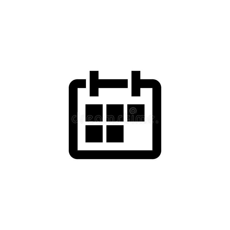 calendar икона новый год знака бесплатная иллюстрация