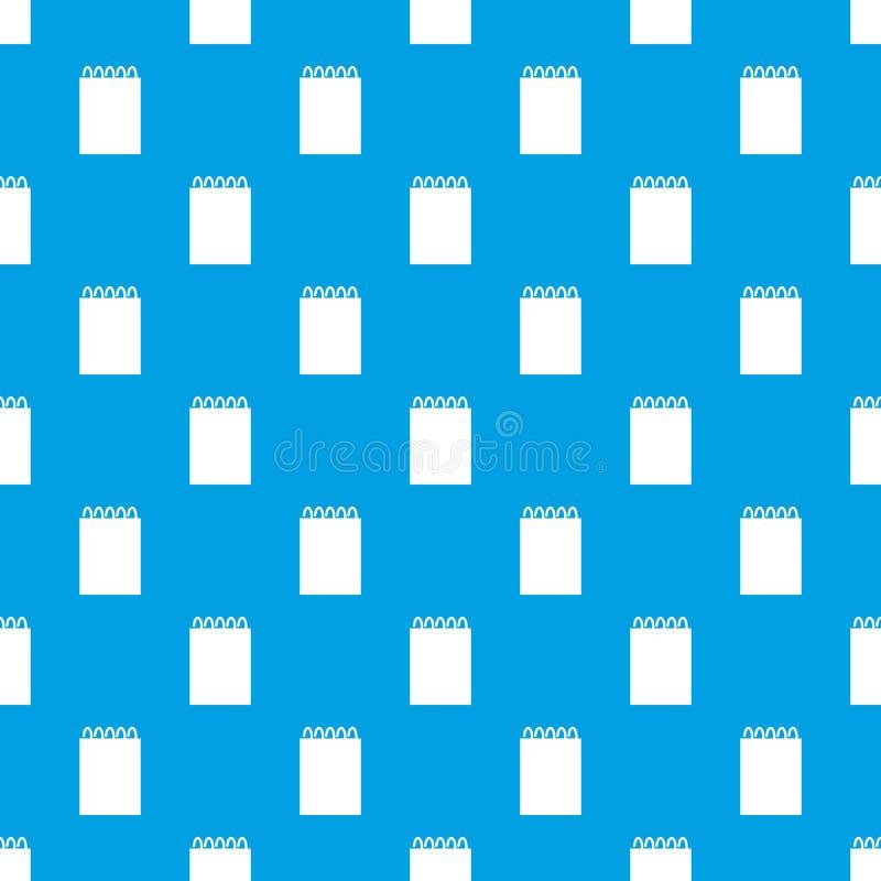 Calendar двадцать пятая из сини вектора картины в ноябре безшовной иллюстрация вектора