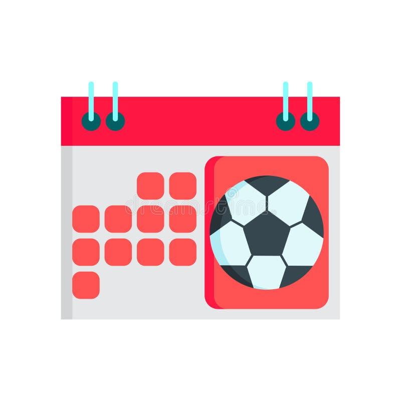 Calendar знак и символ вектора значка изолированные на белом backgroun иллюстрация штока