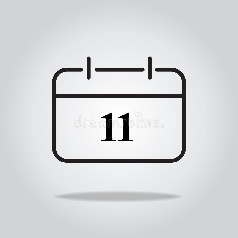 calendar икона также вектор иллюстрации притяжки corel бесплатная иллюстрация