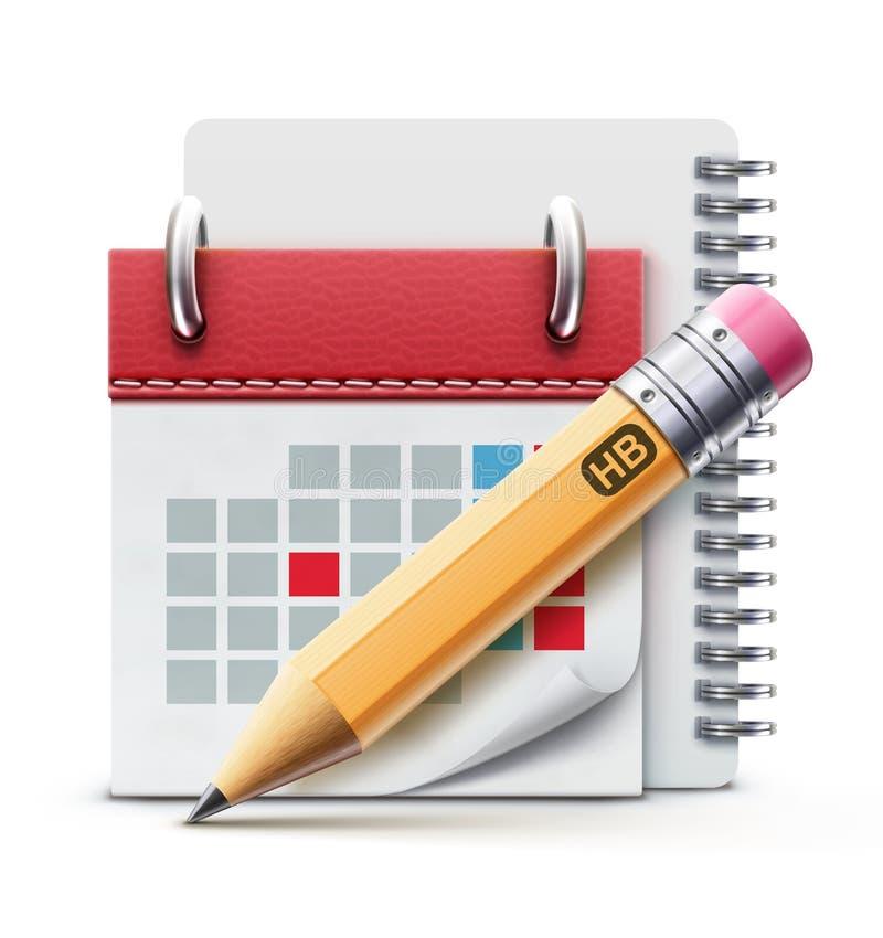 Calendar икона бесплатная иллюстрация