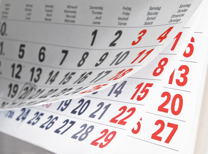 Download A calendar stock photo. Image of office, organizer, schedule - 11647880