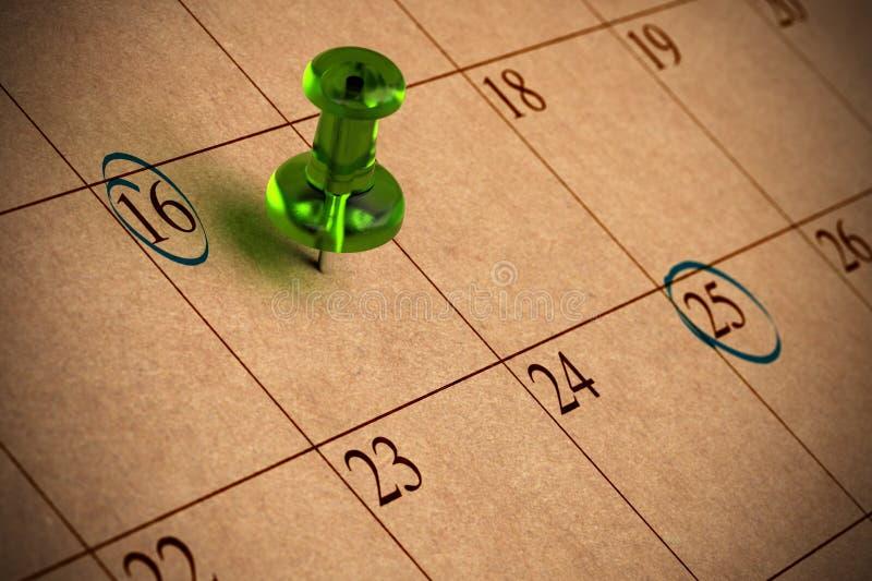 Download Calendar stock illustration. Image of important, dates - 17779535