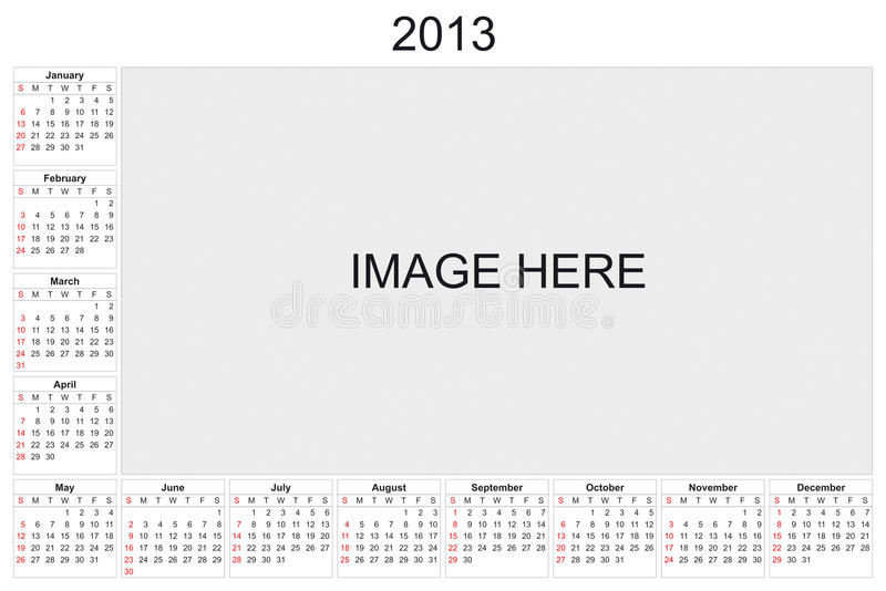 Download Calendar 2013 Stock Photography - Image: 26848982
