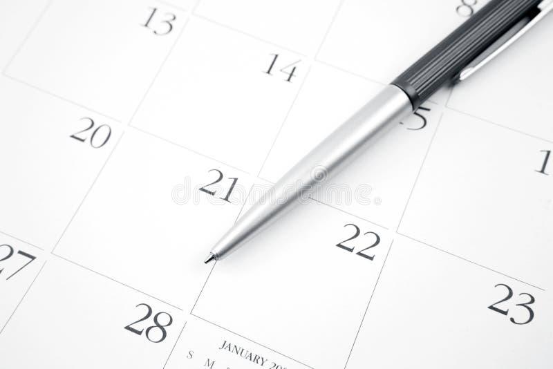 Download Calendar stock image. Image of agenda, ballpoint, meeting - 28756829