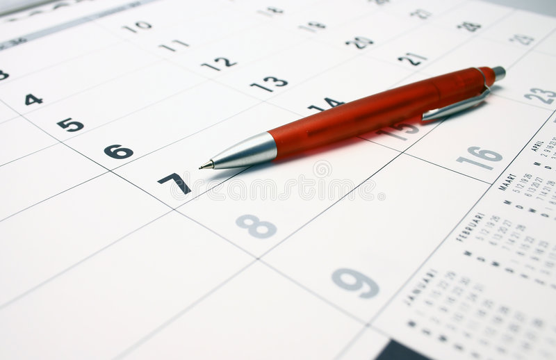 Download Calendar stock image. Image of year, months, date, pencil - 3117975