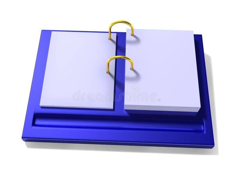 Calendar. Desktop calendar. The designer himself can impose the necessary image on sheets of a calendar vector illustration