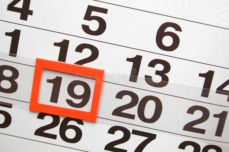 Download Calendar stock image. Image of past, time, date, page - 4626073
