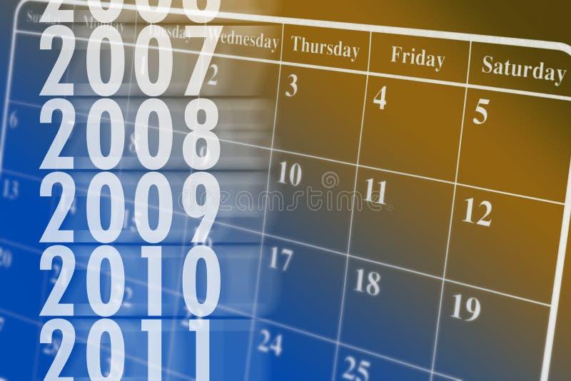 Calendar. Close up of Desk Calendar stock photo