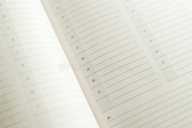 Download Calendar Closeup Royalty Free Stock Images - Image: 4155089