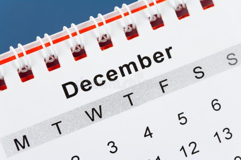 Download Calendar December stock image. Image of week, reminder - 8246263