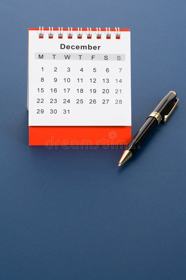 Download Calendar December stock image. Image of date, page, white - 9111993