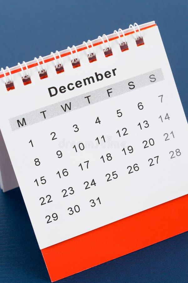 Calendar December Royalty Free Stock Image