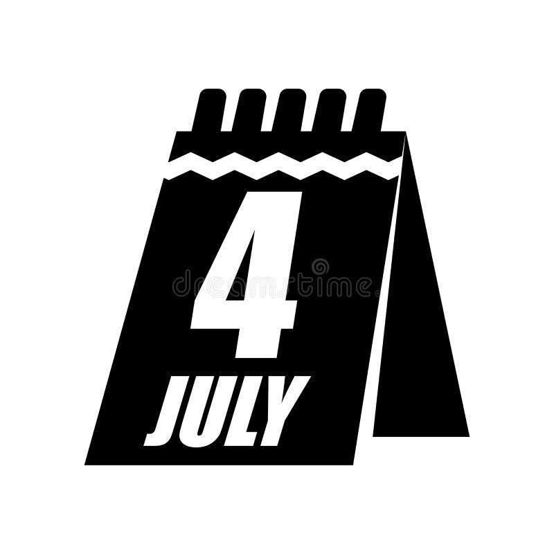 Calendar det symbolsvektortecknet och symbolet som isoleras på vit bakgrund, kalenderlogobegrepp stock illustrationer