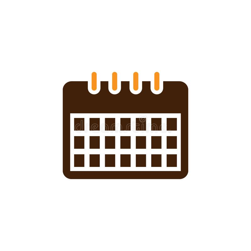 Calendar, estimate icon. Element of Web Optimization icon for mobile concept and web apps. Detailed Calendar, estimate icon can be. Used for web and mobile on stock illustration