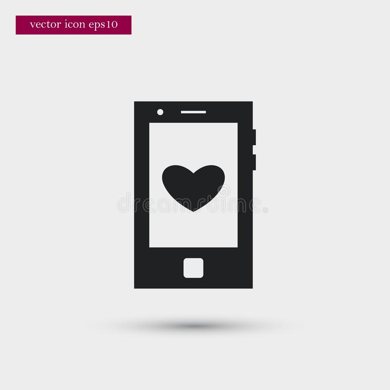 Calendar icon. Simple romance element illustration. Valentine symbol design from love collection. Can be used in web and mobile vector illustration