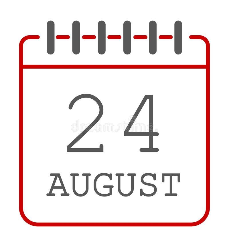 Calendar icon vector royalty free illustration