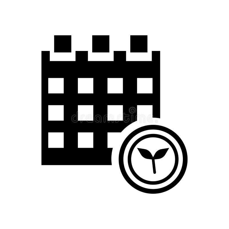 Calendar icon vector isolated on white background, Calendar sign , eco symbols vector illustration