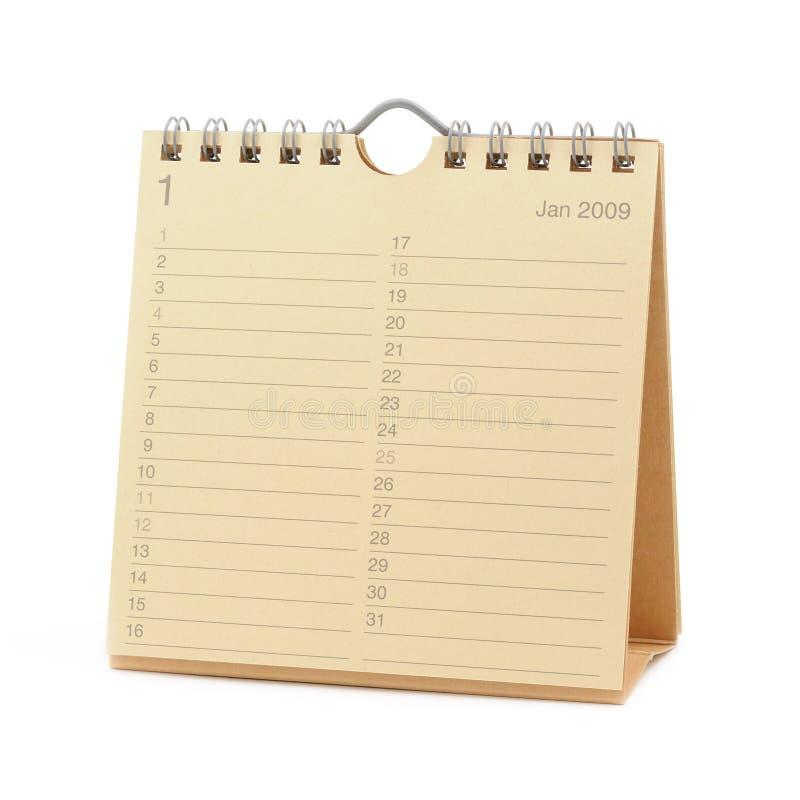 Download Calendar - January 2009 stock image. Image of number, calendar - 7798743