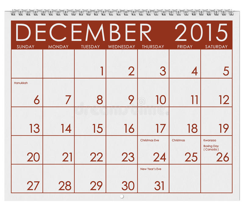 6 month 2015 calendar