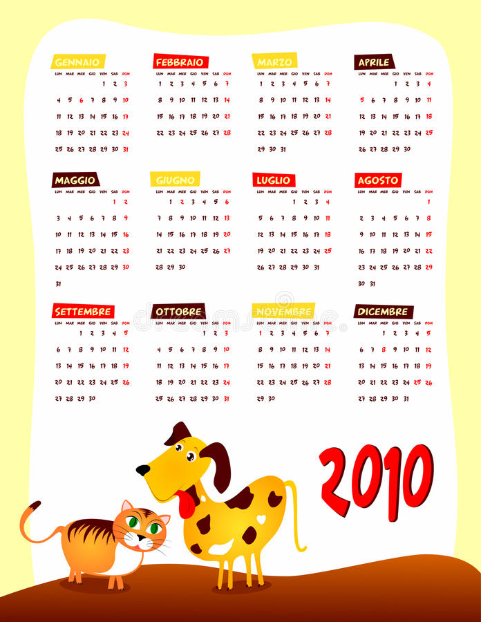 Download Calendar Of Next Year Stock Photo - Image: 11271320