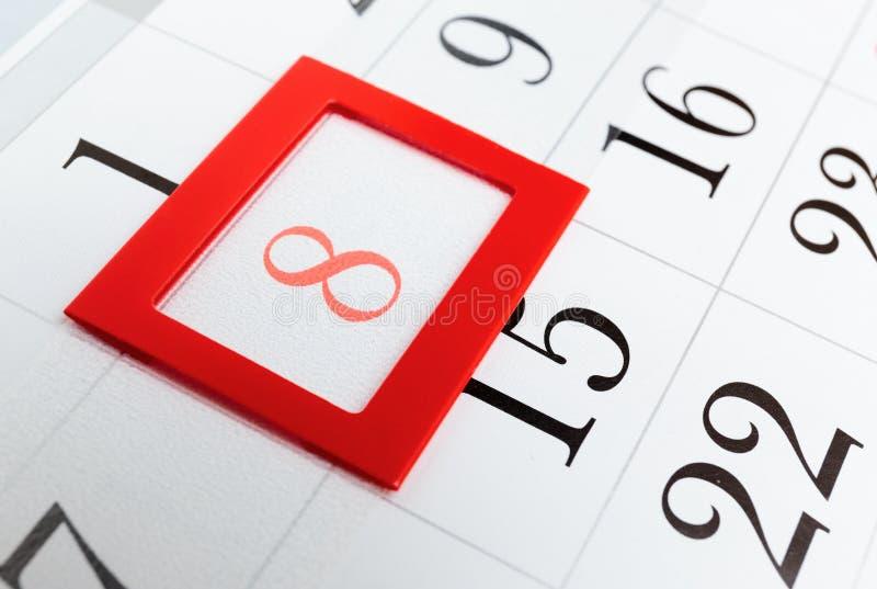 Calendar a página fotos de stock