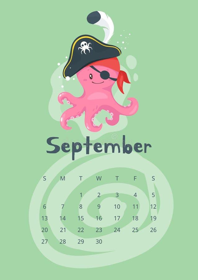 2020 calendar page. vector illustration