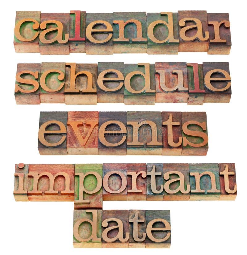 Download Calendar, Schedule, Important Date Stock Photo - Image: 22887146