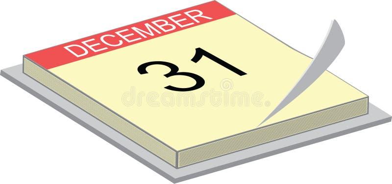 Download Calendar showing the 31 stock vector. Image of calendar - 7204566