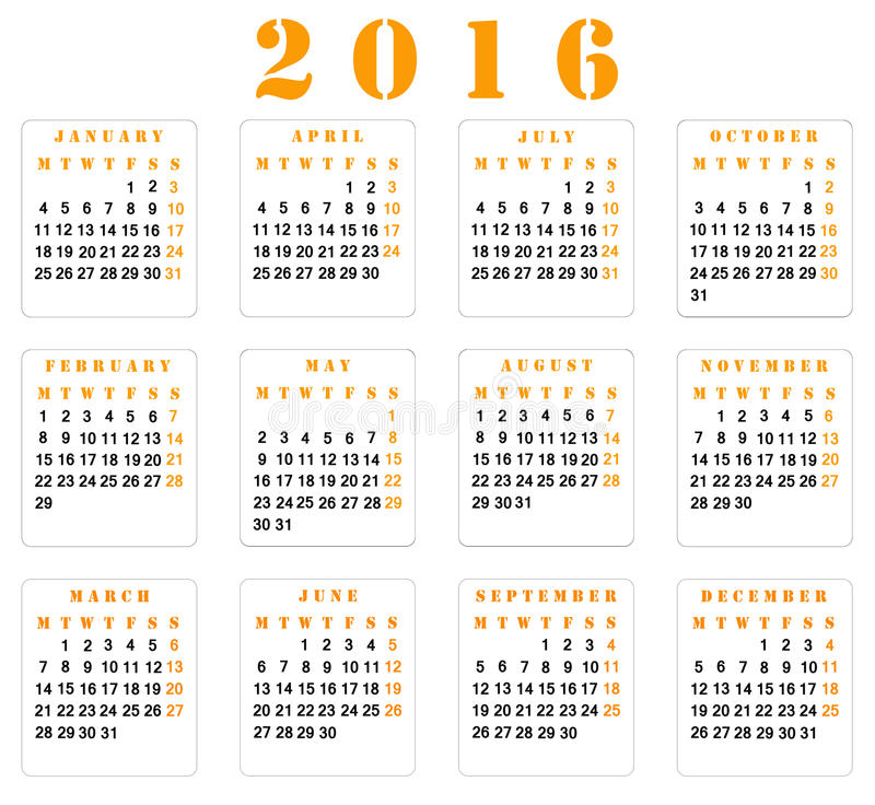 Calendar Organization Number : Calendar stock photo image of event number