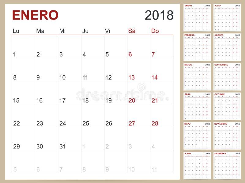 printable 12 month calendar 2018