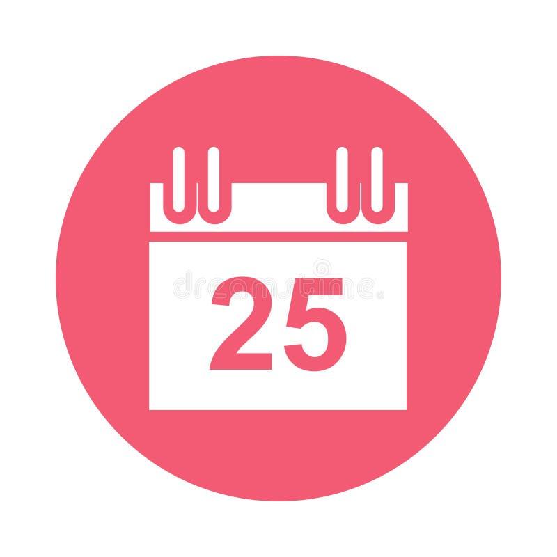 calendar symbolen stock illustrationer