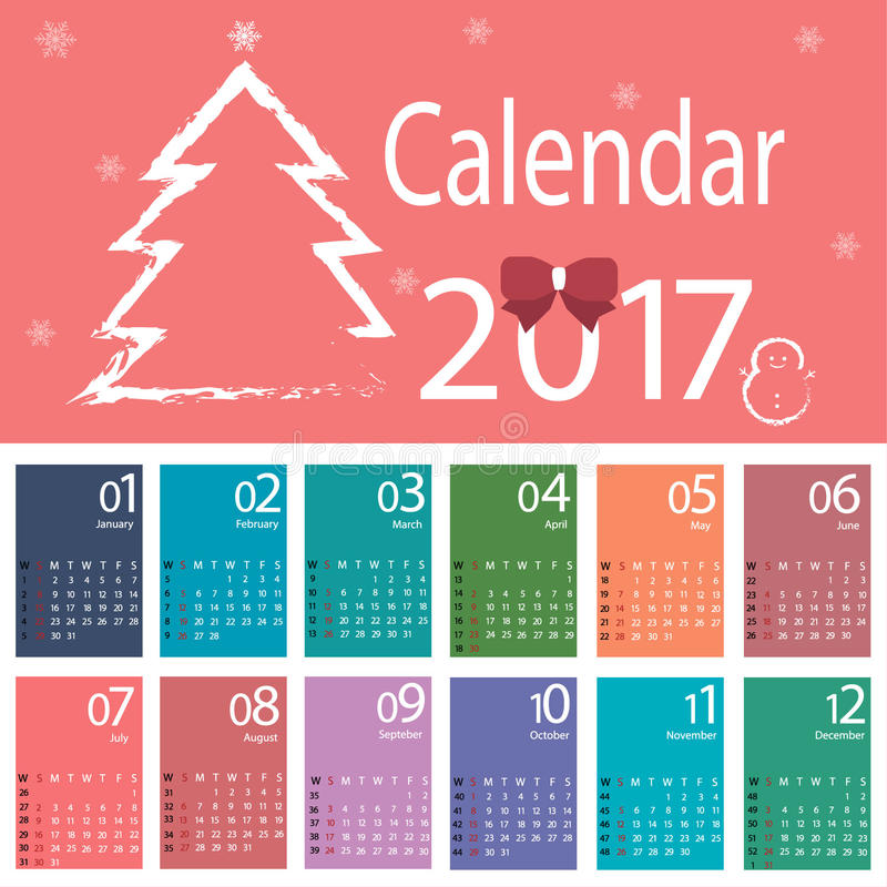Calendar vector royalty free stock images