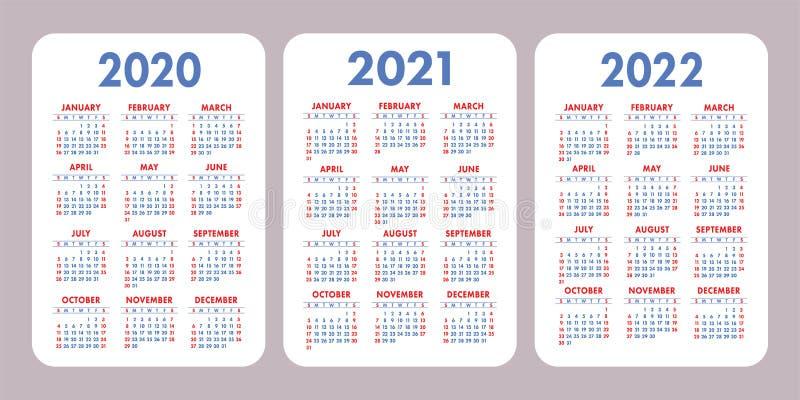 Serie B 2021-2022 Calendario Calendar Template 2021 And 2022 Stock Illustration   Illustration