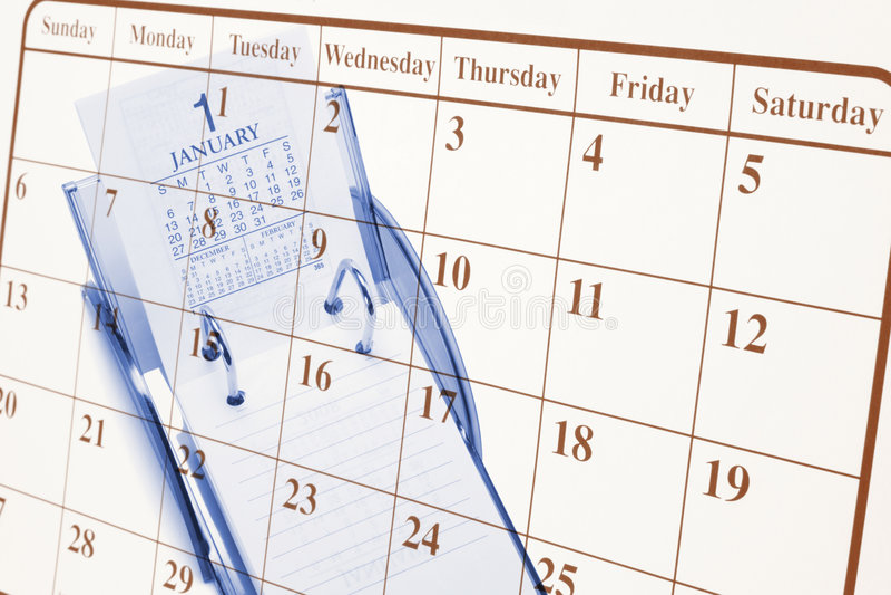 Calendari immagini stock libere da diritti