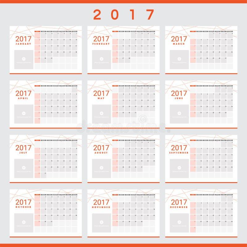 2017 calendari con spazio per le vostre immagini for Pianificatore di blueprint gratuito