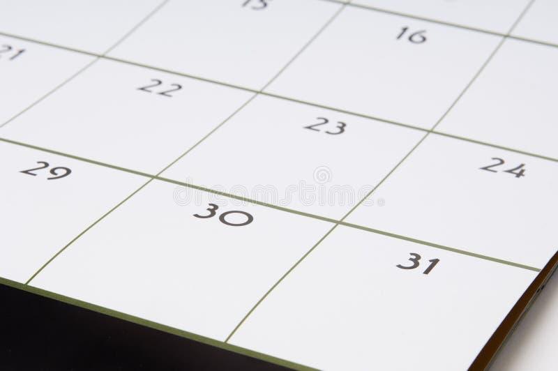 Calendario #1 Immagini Stock Libere da Diritti