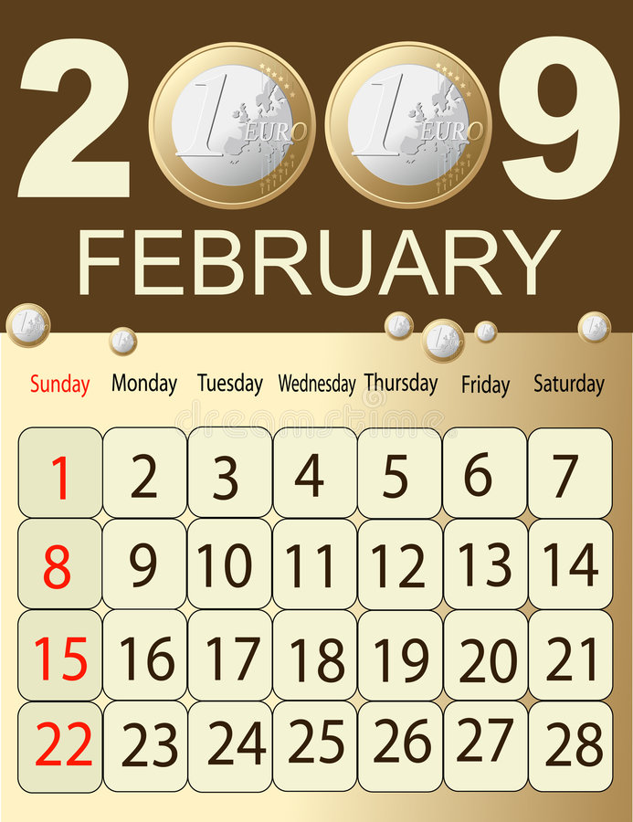 Calendario 2009 libre illustration