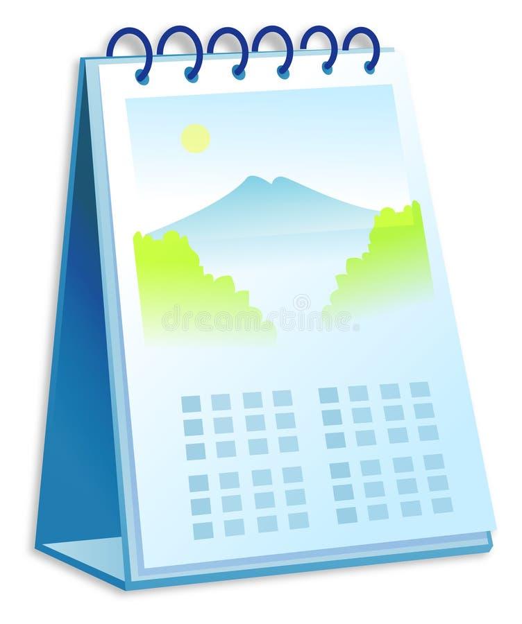 Calendario stock de ilustración