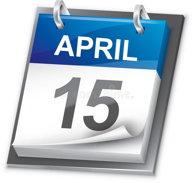 Calendario (año entero incluido) fotografía de archivo