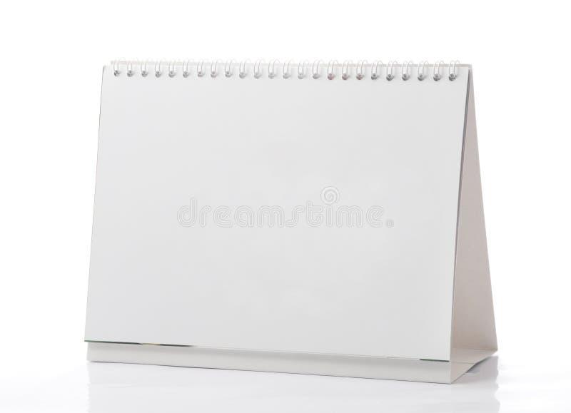 Calendario in bianco fotografia stock
