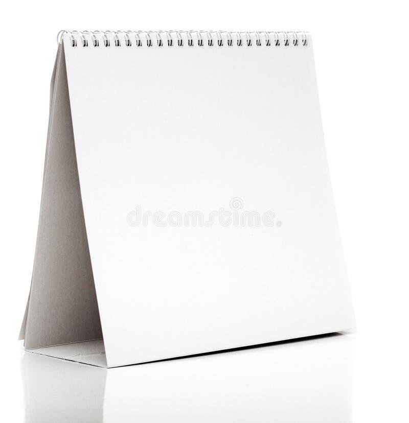 Calendario da scrivania fotografia stock libera da diritti