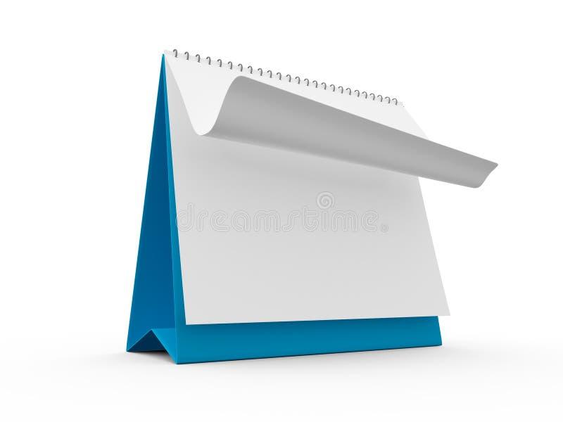 Calendario da scrivania illustrazione vettoriale